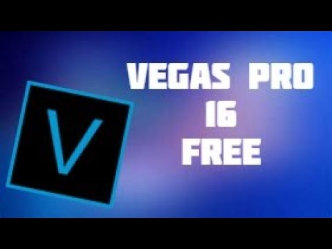 How To Get Sony Vegas Pro 16 For Free | 2020 (STILL WORKS)