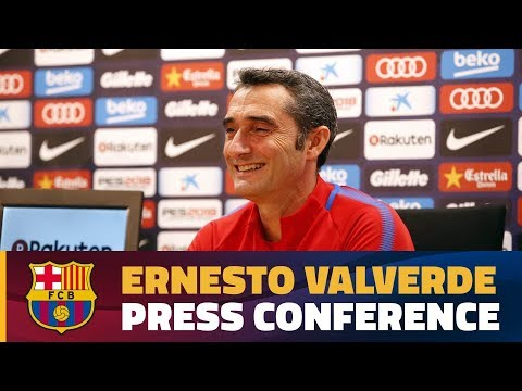 FULL STREAM | Ernesto Valverde press conference #ElClásico