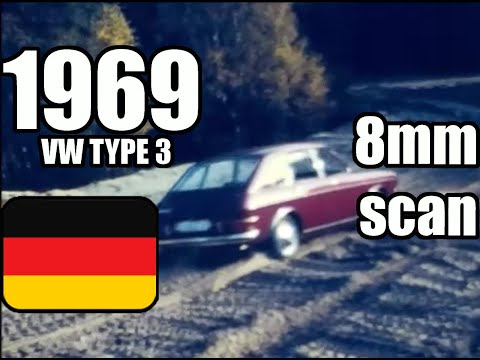 1969 VW Type 3 cross country
