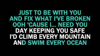 Download Lagu You are the Reason karaoke Calum Scott Mp3