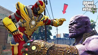 THANOS BUSTER vs THANOS - GTA 5 Mods