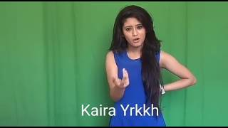 Shivangi Joshi-Naira Audition Video..