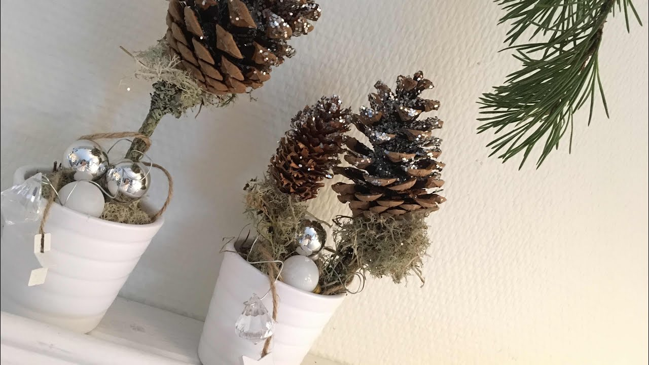 Jak Zrobić Drzewko Z Szyszką Ozdoba Na Boże Narodzenie