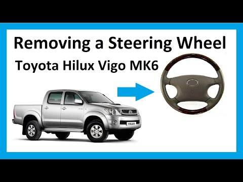 Thumbnail: How to remove the steering wheel on a Toyota Hilux Mk6 Vigo