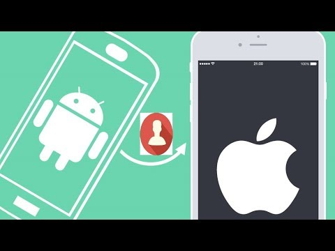 Hướng dẫn chuyển danh bạ từ Android sang iPhone(How to Transfer Contacts from Android to iPhone)