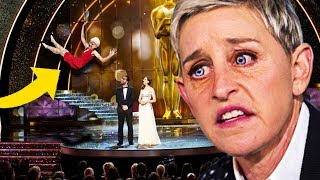 Walks On Stage To Collect Award... Goes Horribly Wrong