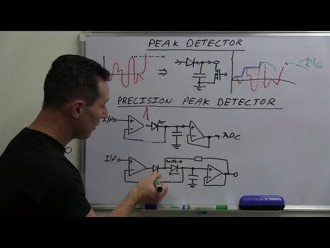 EEVblog #490 - Peak Detector Circuit