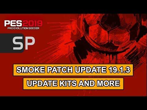 PES 2019 | Smoke Patch Update 19.1.3