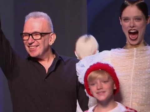 Gaultier's 'childish and exotic' collection