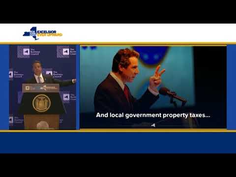 Governor Cuomo Delivers Remarks at Business Council of New York State's Annual Meeting