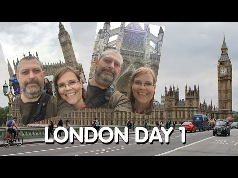 London Day 1: Flight, London Eye, Big Ben, Westminster, St. James Park, The Tube & More