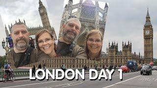 London Day 1: Flight, London Eye, Big Ben, Westminster, St. James Park, The Tube & More