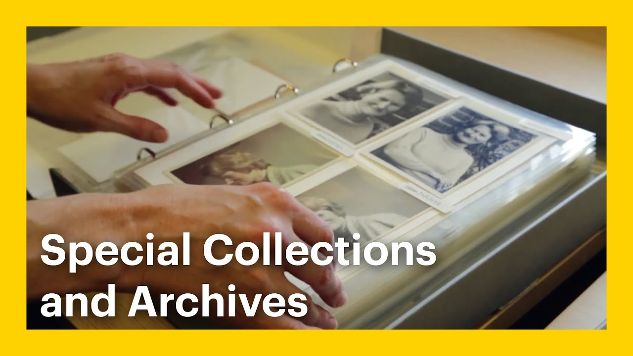 Goldsmiths Library Special Collections And Archives Youtube