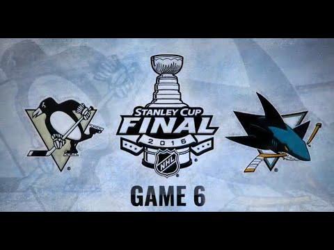 Stanley Cup Final 2016 NHL GAME 6 | Pittsburgh Penguins / San Jose Sharks