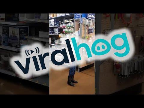 Boy Sings Out in Walmart || ViralHog
