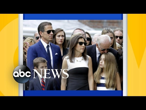 Joe Biden's son in relationship with widow of his late-brother