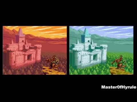 The Legend of Zelda Oracle of Ages & Oracle of Seasons Comparison (Gameboy Color / 3DS)