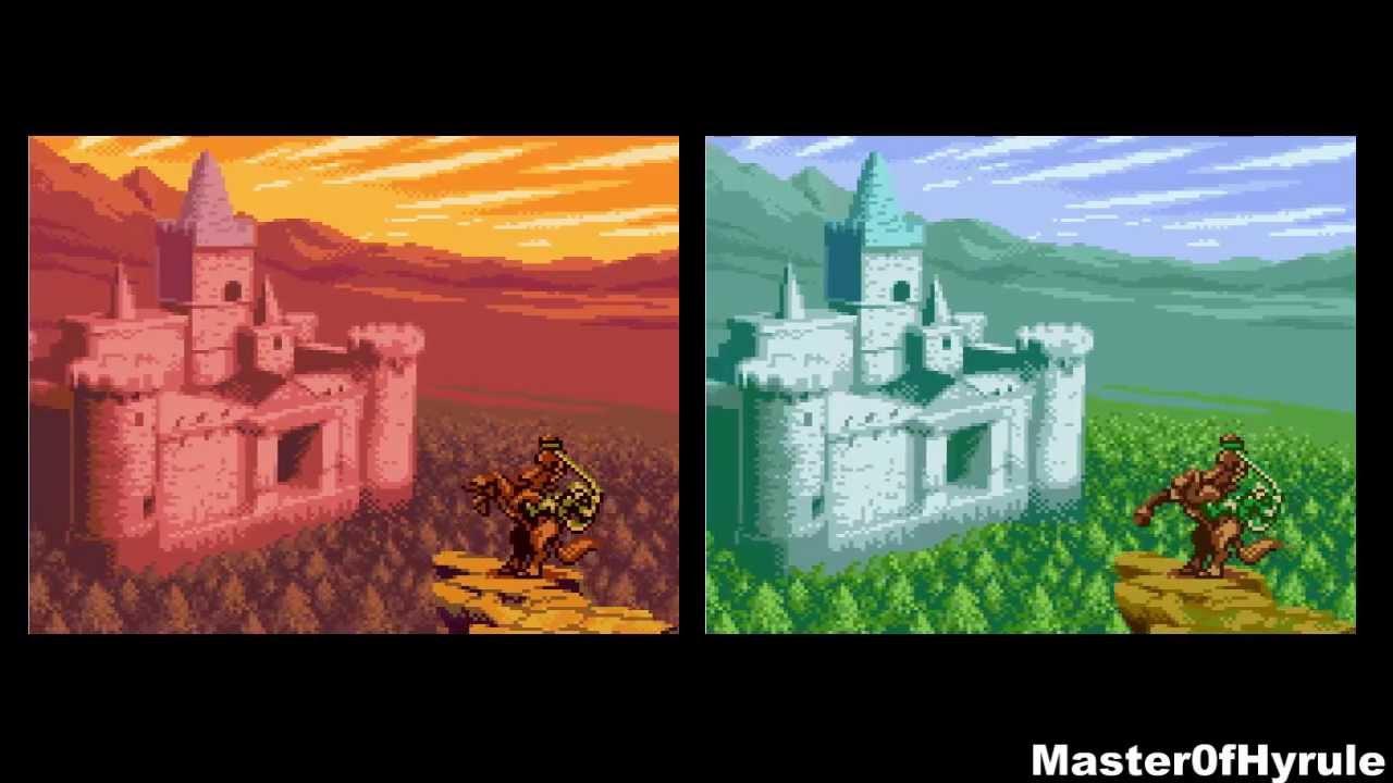 Game boy color legend of zelda - The Legend Of Zelda Oracle Of Ages Oracle Of Seasons Comparison Gameboy Color 3ds