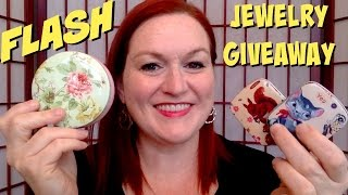 Flash Jewelry Review and Giveaway - 6 Pieces to Giveaway - 24 Hour Jewelry Giveaway