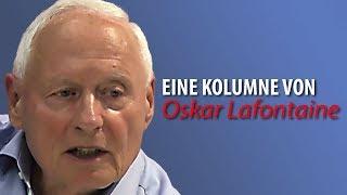 Oskar Lafontaine #2: Die linke Sammlungsbewegung