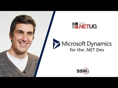 Dynamics 365 For The .NET Developer - Andrew Campey