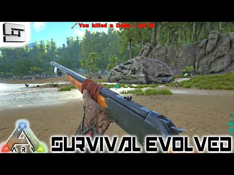 ARK: Survival Evolved - GUNS! E10 ( Gameplay )