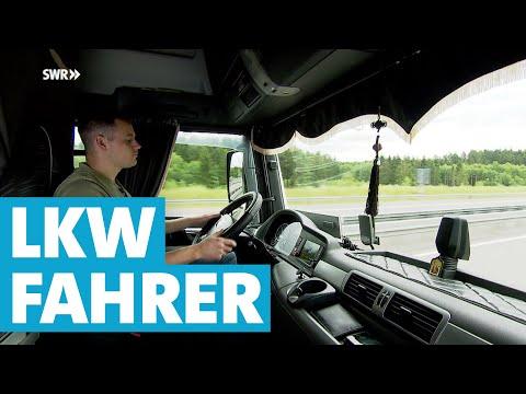 LKW-Fahrer Werden In Der Eifel   SWR   Landesschau Rheinland-Pfalz