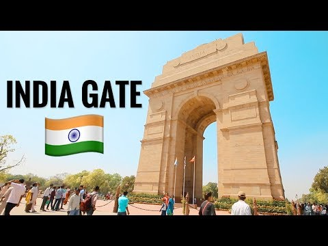 India Travel Vlog: New Delhi Sites And India Gate