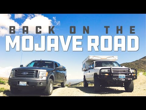 Mojave Road: Kelso Dune and Mojave Mailbox