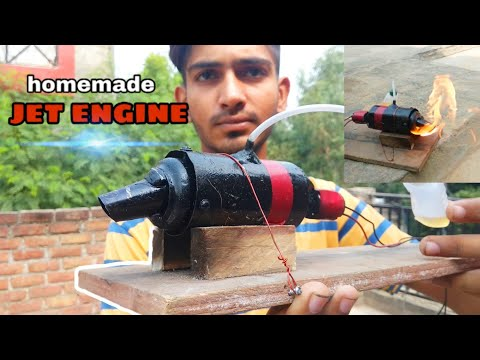homemade jet engine || school project || rc engine