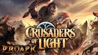 Crusaders of Light Gameplay Android / iOS (Open World MMORPG)