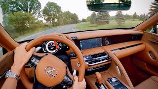 2021 Lexus LC 500 Convertible - POV Driving Impressions