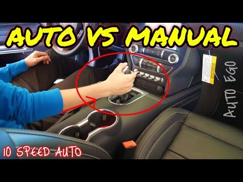 SHOULD you BUY a MANUAL or AUTOMATIC Mustang GT?! *WHY I got an AUTO*