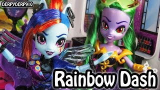 MLP Equestria Girls: Rockin' Hair Rainbow Dash (Mall Mayhem) My Little Pony MLPEG Toy Doll Review