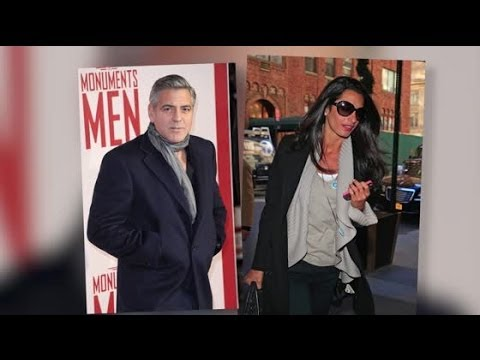 George Clooney & Amal Alamuddin's Engagement Leaked By Law Firm | Splash News TV | Splash News TV