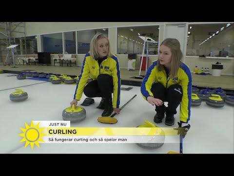 Galenskaparna spelar curling