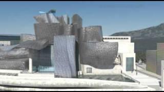 Guggenheim Museum Bilbao in 3D