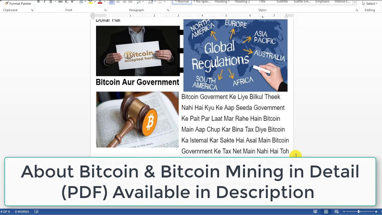 what is bitcoin mining pdf