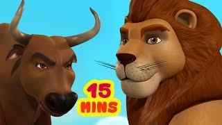 Divide and Rule Short Tales | Animal Stories for Children | Infobells