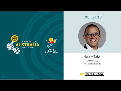 DestAus17: Global connections trends in tourism marketing