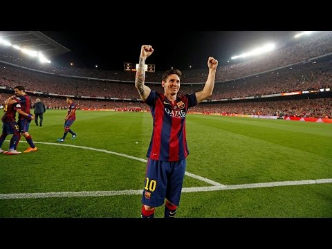 Lionel Messi 2015 FIFA Puskas Nominated Goal vs Athletic Bilbao  ► With VIP & Fan's Camera ||HD||