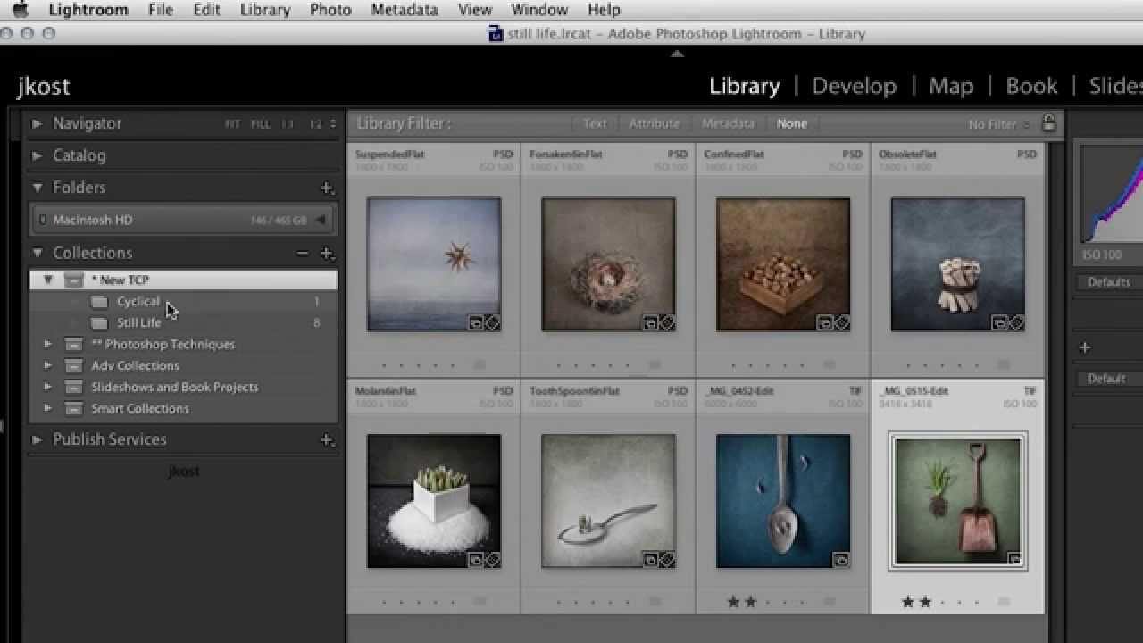 How to clear lightroom library