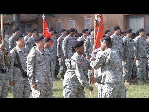 Fort Report 40th ESB Change of Command
