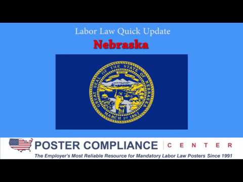 Nebraska Labor Law Poster Update