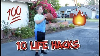 10 LIFE HACKS YOU NEED TO KNOW (we got kicked out of CVS) w/ Haile