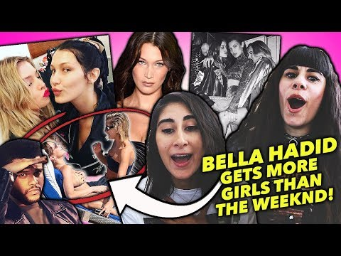 BELLA HADID GETS MORE GIRLS THAN THE WEEKND