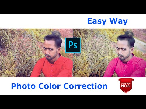 Perfect Photo Color Correction | photoshop tutorial thumbnail