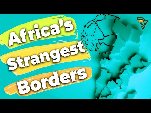 Africa's Strangest Borders
