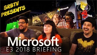 SRBTV Presents Microsoft Press Conference E3 2018
