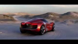 Renault DeZir Concept - Voiture électrique de sport